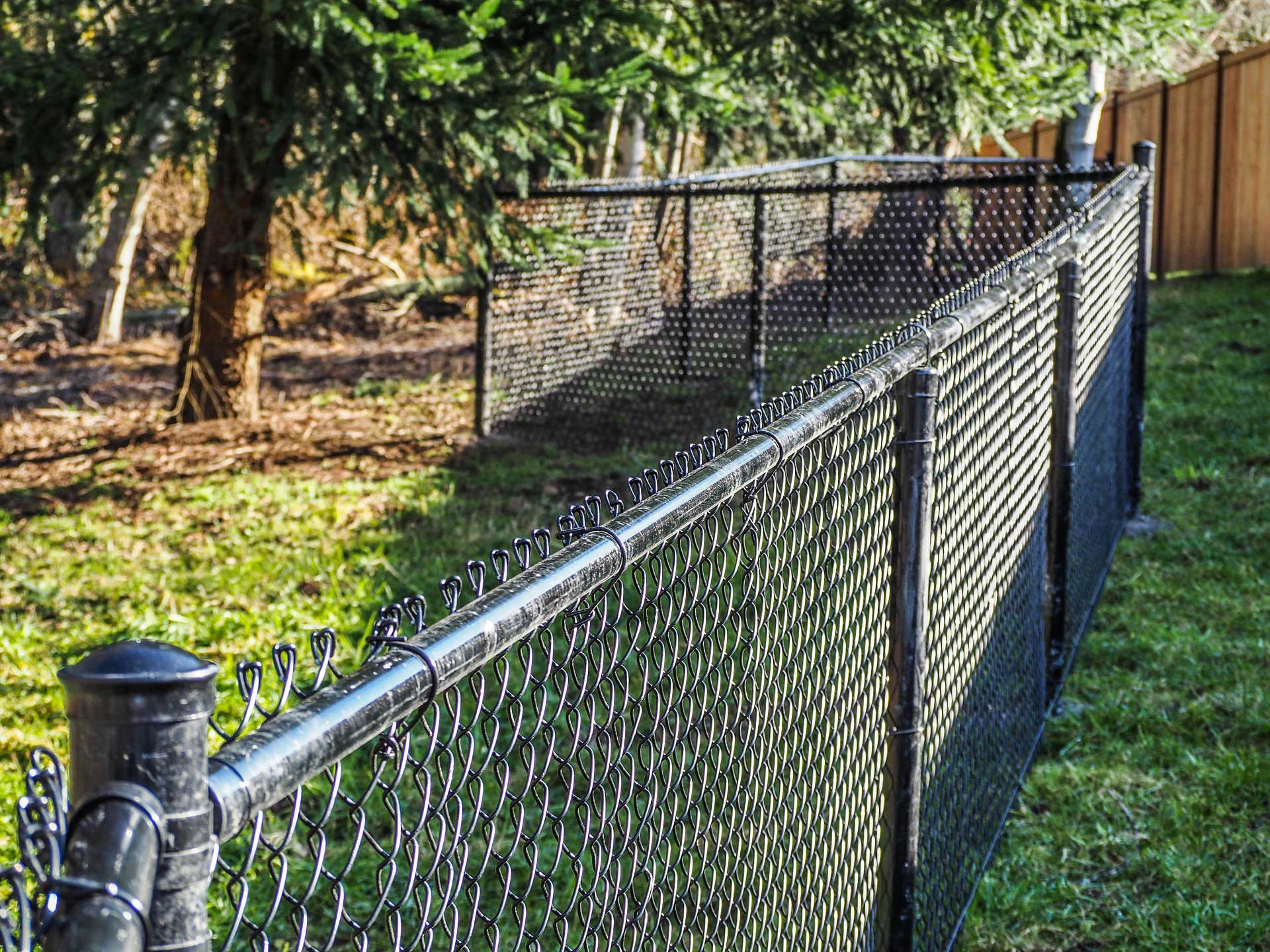 Chain Link Fence The Bag Lady Inc