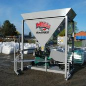 the worlds best automatic sandbag filling machine mb 1a by baglady inc